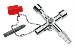 Ключ для электрошкафов Knipex - фото 11204