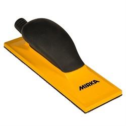 Шлифок ручной 70x198мм жёлтый с пылеотводом Mirka - фото 11483