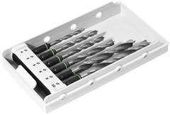 Свёрло-бит в кассете DB 4-10 CE 6шт. по дереву Festool - фото 4249