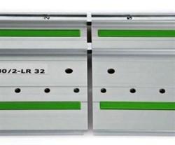 Шина направляющая FS 1400/2 LR 32 с отверстиями Festool - фото 4768