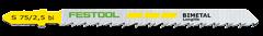 Пилки для лобзика HS 75/2.5 BI/5 уп.5шт. Festool - фото 4970