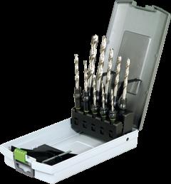 Сверло набор Centrotec 3-10мм с держателями 10шт. Festool - фото 5465