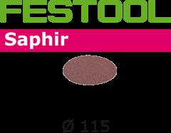 Шлифкруг STF D115 Saphir P80 25шт. - фото 6236