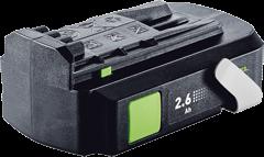 Аккумулятор BPC 18-2,6 Ah Li Festool