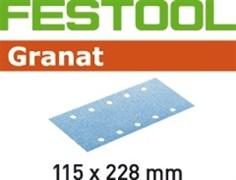 Шлифлист STF 115x228мм Granat