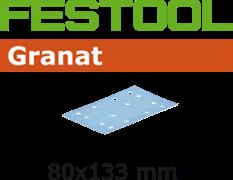 Шлифлист STF 80x133мм Granat