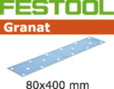 Шлифлист STF 80х400мм Granat