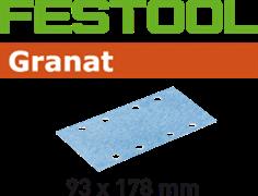Шлифлист STF 93x178мм Granat