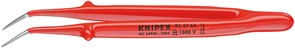 Пинцет прецизионный 150мм 1000V 45° Knipex