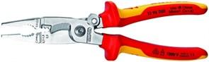 Плоскогубцы универсальные 200мм 1000V Knipex
