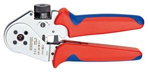Клещи для опрессовки 180мм точ. контактов Knipex