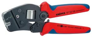 Клещи для опрессовки 180мм для конт. гильз Knipex