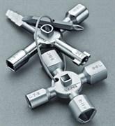 Ключ для электрошкафов TwinKey  Knipex