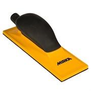 Шлифок ручной 70x198мм жёлтый с пылеотводом Mirka