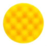 Полировальный диск 85мм жёлтый рельефный 2шт.