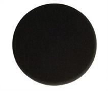 Полировальный диск 150мм черный плоский 2шт.