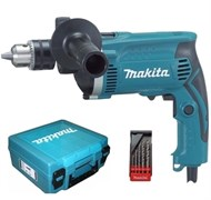 Дрель ударная Makita HP 1630 KX1+Подарок