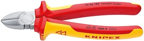 Бокорезы 125-180мм 1000V изолированные Knipex