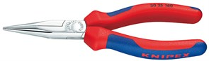 Длинногубцы 140-190мм хром Knipex