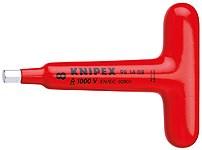 Ключ торцевой 200мм Т-образный 1000V Knipex