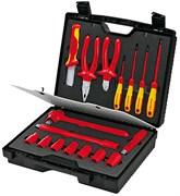 Набор инструментов 17шт 1000V в портфеле Knipex