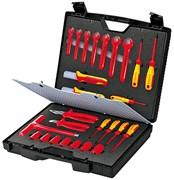 Набор инструментов 26шт 1000V в портфеле Knipex