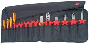 Набор инструментов 15шт 1000V в планшете Knipex