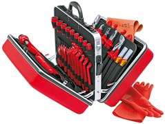 Набор инструментов 48шт 1000V в чемодане Knipex