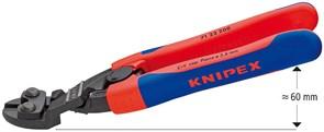 Болторез компактный 200мм 20° с пружиной Knipex