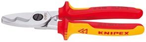 Кабелерез 200мм 1000V двойные кромки Knipex