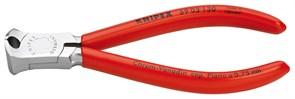 Кусачки торцевые 130мм для механиков черн Knipex