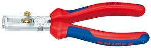 Инструмент для удаления изоляции 160мм хром Knipex