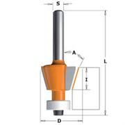 Фреза фасочная 15° комб. хвостовик 6мм CMT