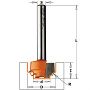 Фреза гравировальная с калёвкой хвостовик 6мм CMT