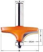 Фреза для перил профиль А хвостовик 12мм подш. CMT