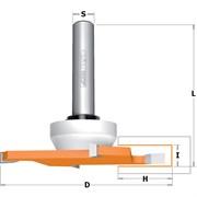 Фреза по иск. камню пазовая Z4 хвостовик 12мм CMT