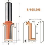 Фреза радиусная гравировальная C хвостовик 12мм