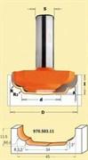 Фреза филенка профильная хвостовик 12мм CMT