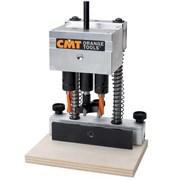 Система для врезки петель (база) в кейсе CMT