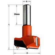 Сверло чашечное хвостовик 10мм Ø26мм RH CMT
