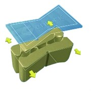 Крепеж пластиковый (шпонки 50шт) 9,5мм CMT