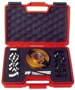 Комплект фрезы насадной и 7 пар ножей СМТ