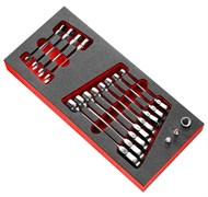 Набор ключей комбинированных 6-24мм Facom 17шт.