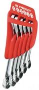 Набор ключей накидных с трещоткой 8-19мм Facom 6шт