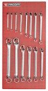 Набор накидных коленчатых ключей 6-42мм Facom 14шт