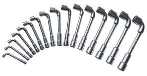 Набор ключей торцевых 6х6граней 8-24мм Facom 16шт
