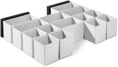 Пластиковые контейнеры 60x60/120x71 3xFT