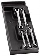 Набор ключей трубных 7-19мм Facom 5шт