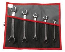 Набор ключей трубных с наклоном 15° 8-24мм Facom