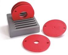 Набор 5-ти колец для фрезерных пластин Kreg